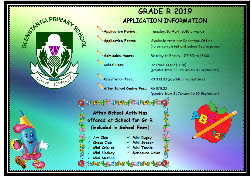 Grade R Applications 2019