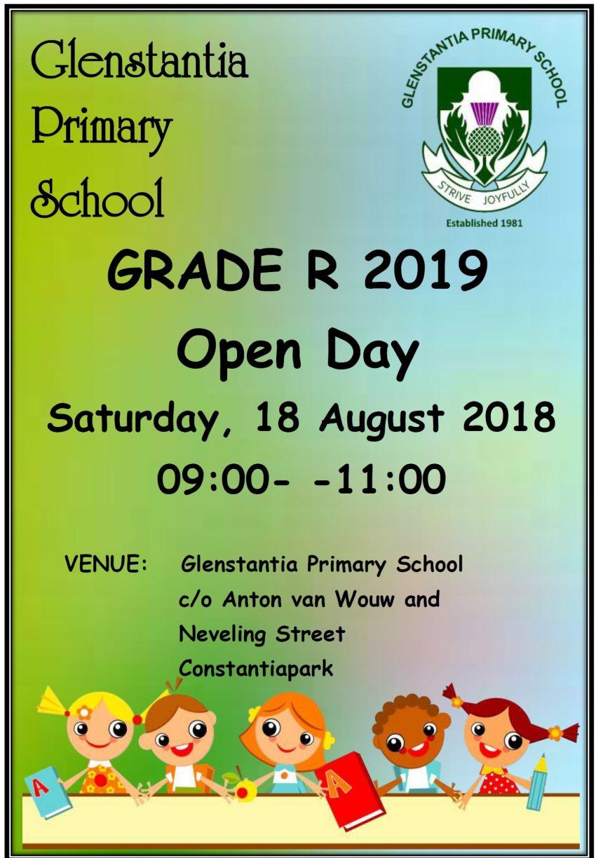 GRADE R OPEN DAY 2019