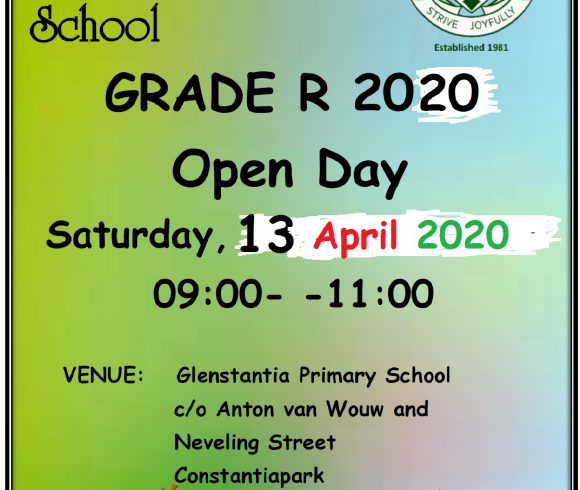 Grade R Open day is HERE!